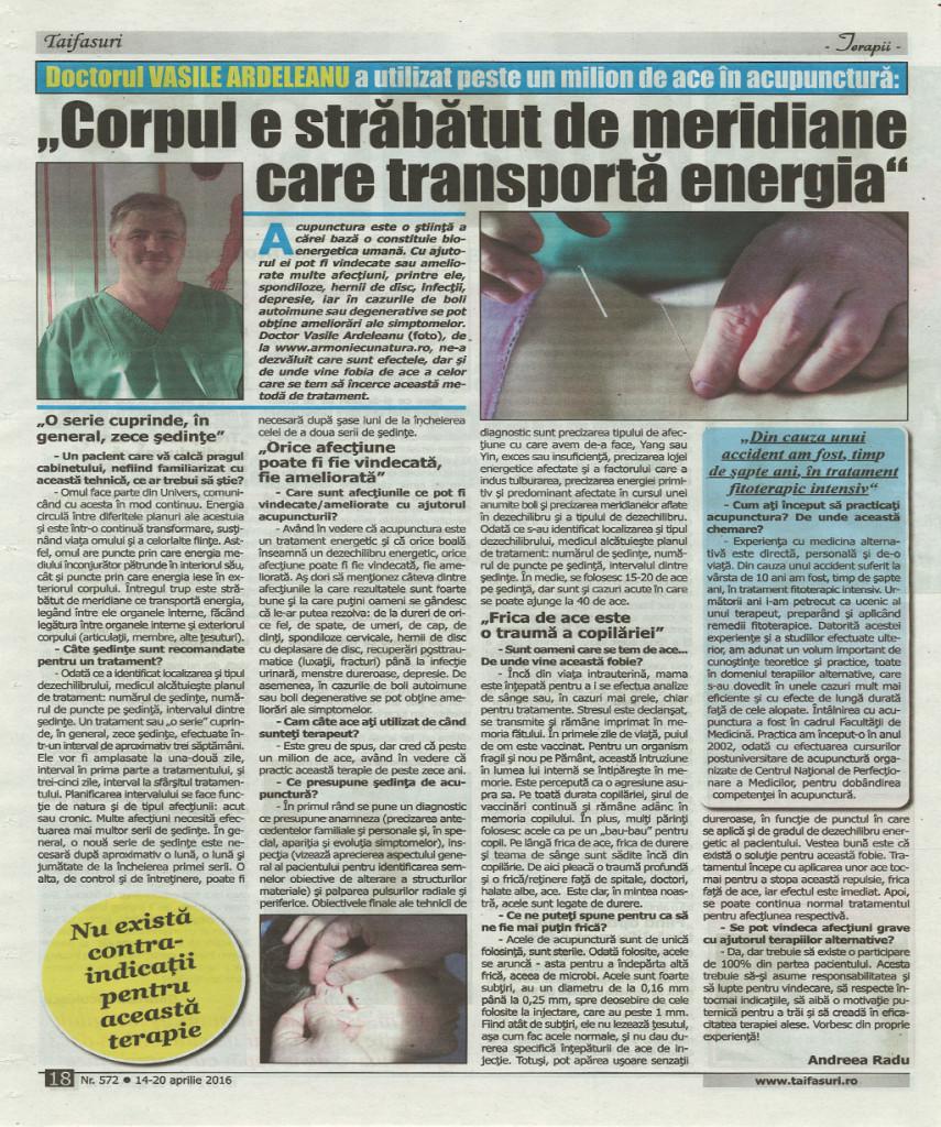 Acupunctura - Armonie cu Natura Bucuresti